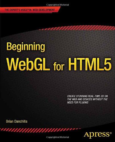 Beginning WebGL for HTML5 Cover