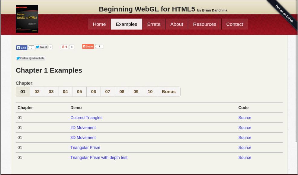 Beginning WebGL website