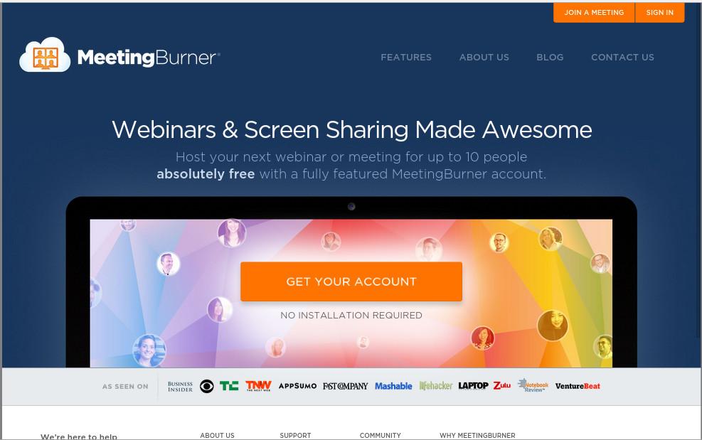 MeetingBurner Screenshot