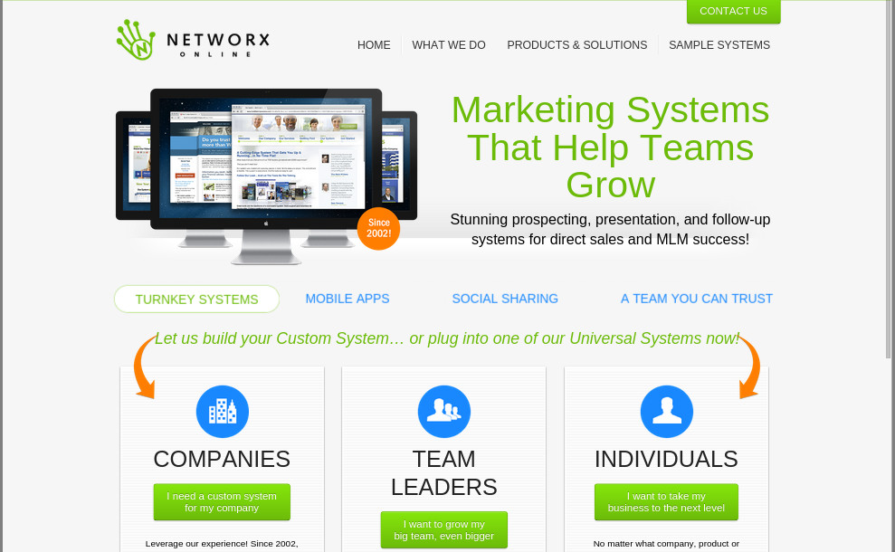 Networx Online Screenshot