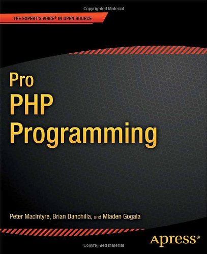 Pro PHP Programming Cover
